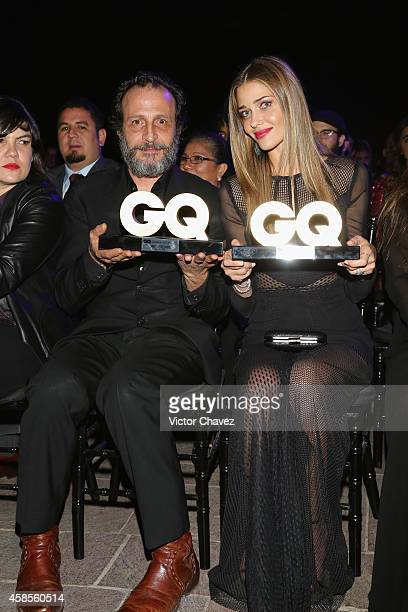 Daniel Giménez Cacho and Ana Beatriz Barros are seen during the GQ Men Of The Year Award 2014 on November 6 2014 in Mexico City Mexico