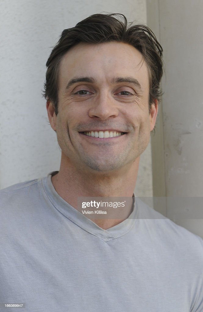 Daniel Goddard attends Debbie Durkin's 3rd Annual Rockn Rolla Movie Awards Eco Party at Pickford Mansion on April 11, 2013 in Los Angeles, California.
