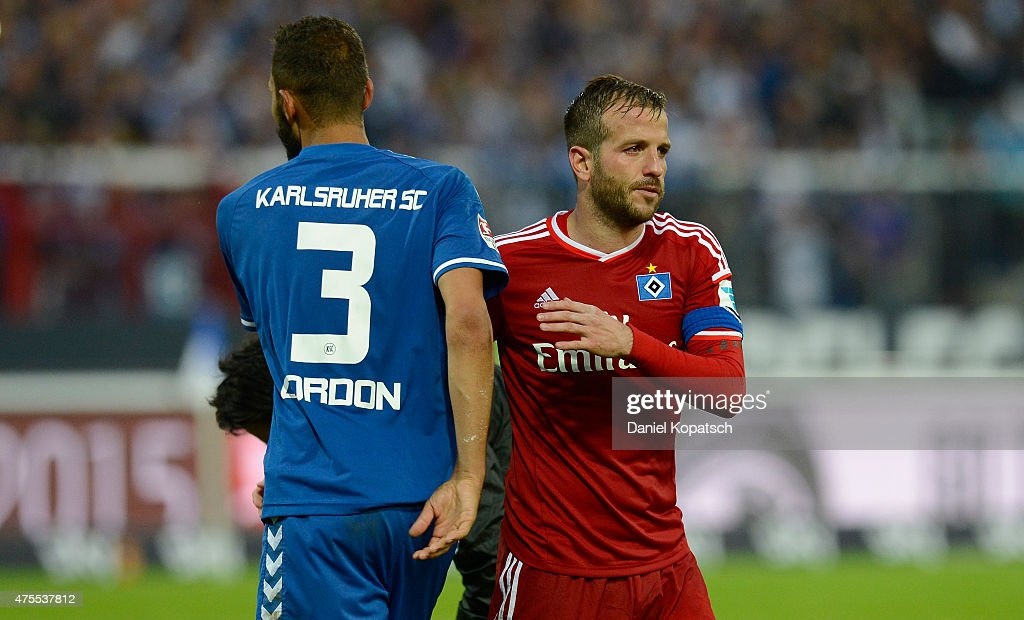 Karlsruher SC v Hamburger SV - Bundesliga Playoff Second Leg