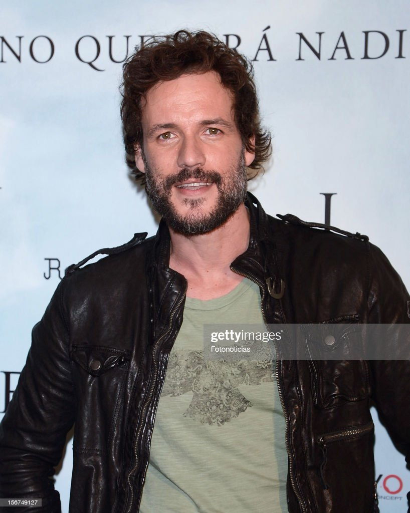 Daniel Grao attends a photocall for 'Fin' at the Room Mate Oscar Hotel on November 20, 2012 in Madrid, Spain.