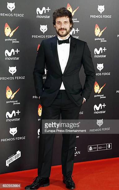 Daniel Grao attends the 2016 Feroz Cinema Awards at Duque de Patrana Palace on January 23 2017 in Madrid Spain