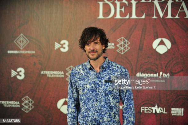 Daniel Grao attends the 'La Catedral del Mar' photocall during the FesTVal 2017 on September 8 2017 in VitoriaGasteiz Spain
