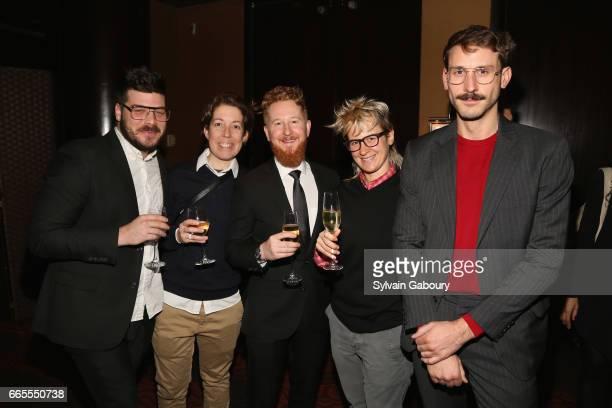 Daniel Greenfield Christy Essano Billy Mack Julie Mack and John Arthur Peetz attend 2017 Vilcek Prizes Gala at Mandarin Oriental Hotel on April 6...