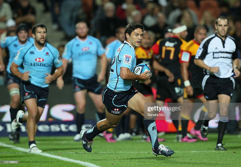 <a gi-track='captionPersonalityLinkClicked' href=/galleries/search?phrase=Daniel+Halangahu&family=editorial&specificpeople=599230 ng-click='$event.stopPropagation()'>Daniel Halangahu</a> of the Waratahs in action during the round six Super Rugby match between the Chiefs and the Waratahs at Waikato Stadium on March 31, 2012 in Hamilton, New Zealand.