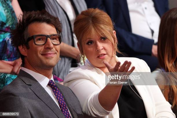 Daniel Hartwich and Maite Kelly during the 10th show of the tenth season of the television competition 'Let's Dance' on May 26 2017 in Cologne Germany