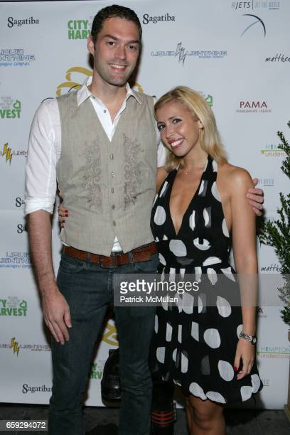 Daniel Hekman and Yanina Erman attend Grand Opening of La Pomme at 37 W 26th St on September 17 2009 in New York City