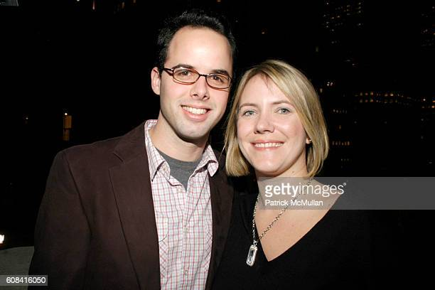 Daniel Helman and Brianne Walker attend CFDA Awards Nominee Announcement Cocktail Party Hosted by SWAROVSKI at Top of the Rock on March 12 2007 in...