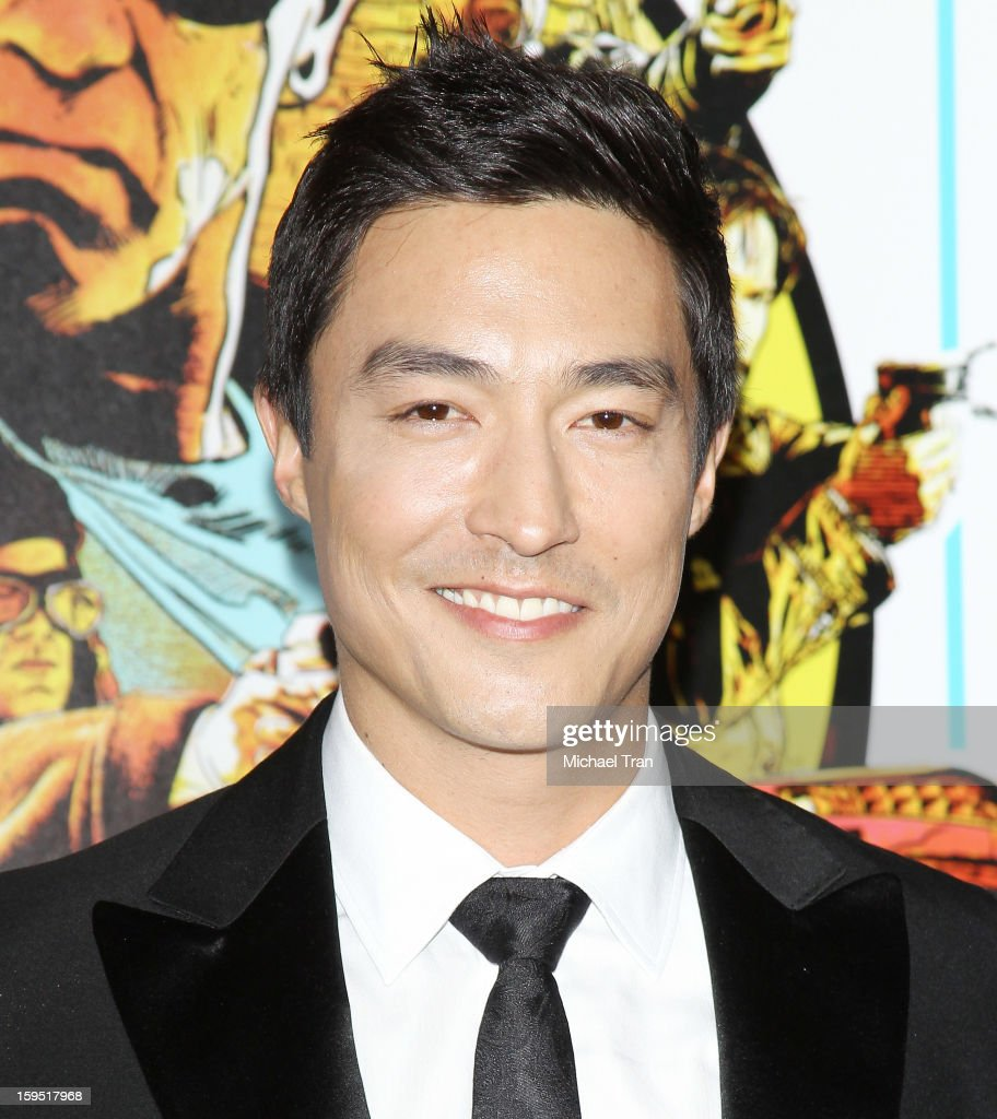 <a gi-track='captionPersonalityLinkClicked' href=/galleries/search?phrase=Daniel+Henney&family=editorial&specificpeople=4350655 ng-click='$event.stopPropagation()'>Daniel Henney</a> arrives at the Los Angeles premiere of 'The Last Stand' held at Grauman's Chinese Theatre on January 14, 2013 in Hollywood, California.