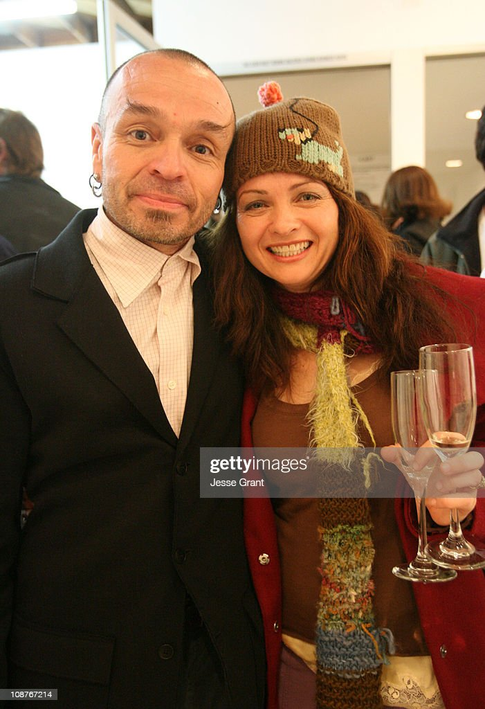 <a gi-track='captionPersonalityLinkClicked' href=/galleries/search?phrase=Daniel+Hernandez&family=editorial&specificpeople=2157363 ng-click='$event.stopPropagation()'>Daniel Hernandez</a> and guest during VIP reception at LAXART - March 18, 2006 at LAXART in Los Angeles, California, United States.