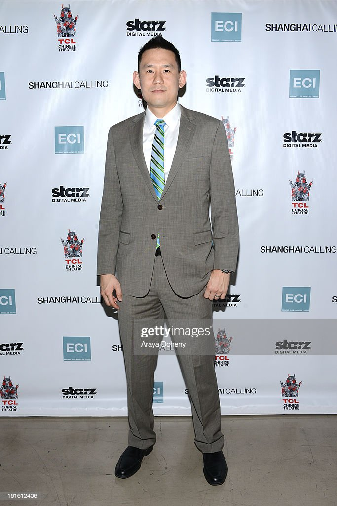 Daniel Hsia attends the 'Shanghai Calling' Los Angeles premiere at TCL Chinese Theatre on February 12, 2013 in Hollywood, California.