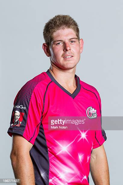 Daniel Hughes of the Sydney Sixers poses during the 2012/13 T20 Big Bash League headshots session on November 8 2012 in Sydney Australia
