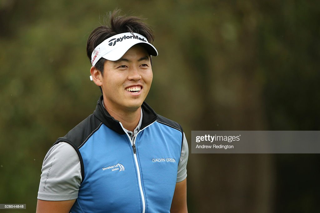 Daniel Im of the United states on the 13th hole during the second round of the Trophee Hassan II at Royal Golf Dar Es Salam on May 6, 2016 in Rabat, Morocco.