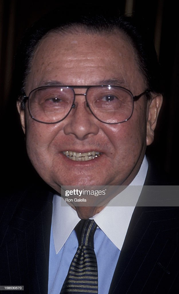 Daniel Inouye attends National Museum of the American Indian Benefit Gala on December 2, 1998 at the Pierre Hotel in New York City.