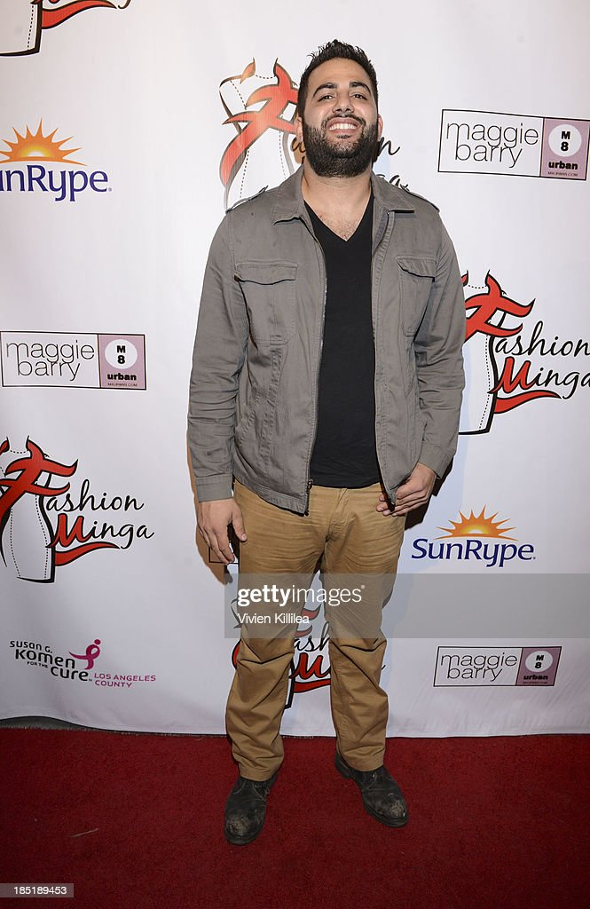 Daniel Issac attends Fashion Minga - Art.Music.Dance. at Exchange LA on October 17, 2013 in Los Angeles, California.