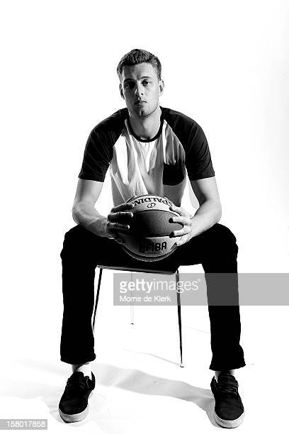 Daniel Johnson poses during an Adelaide 36ers NBL portrait session at the Adelaide Arena on December 7 2012 in Adelaide Australia
