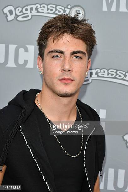 Daniel Kelly attends the return of 'Degrassi' with third annual screening event at MuchMusic HQ on July 16 2012 in Toronto Canada