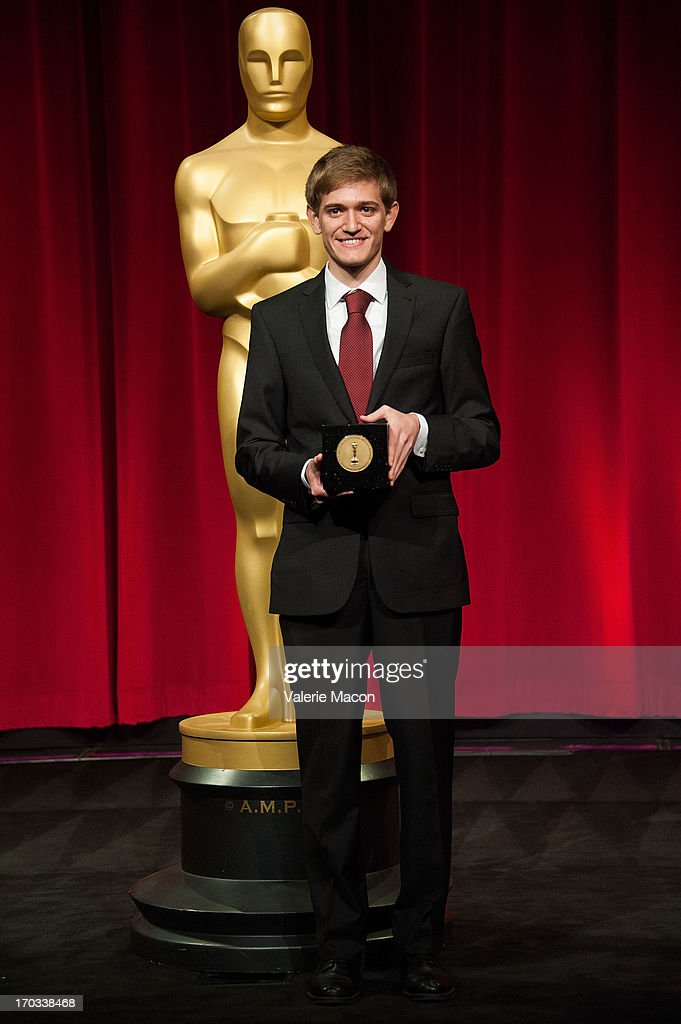 Daniel Koehler attends The Academy Of Motion Picture Arts And Sciences' 40th Annual Student Academy Awards Ceremony at AMPAS Samuel Goldwyn Theater on June 8, 2013 in Beverly Hills, California.