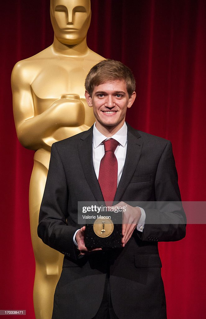 Daniel Koehler attends The Academy Of Motion Picture Arts And Sciences' 40th Annual Student Academy Awards Ceremony at AMPAS Samuel Goldwyn Theater...