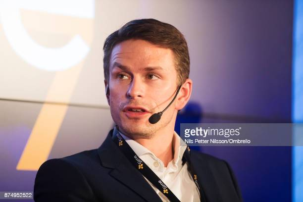 Daniel Kraft Head of business area | Proptech Stronghold Invest AB during the Sime Awards at Epicenter on November 16 2017 in Stockholm Sweden