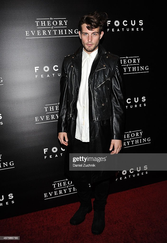 Daniel Kruglikov attends 'The Theory of Everything' New York Premiere at Museum of Modern Art on October 20, 2014 in New York City.