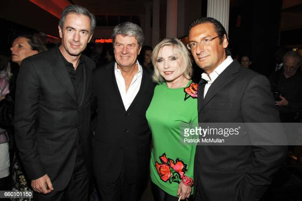 Daniel Lalonde Yves Carcelle Debbie Harry and Pietro Beccari attend LOUIS VUITTON Tribute to STEPHEN SPROUSE VIP Cocktail Party at Louis Vuitton on...