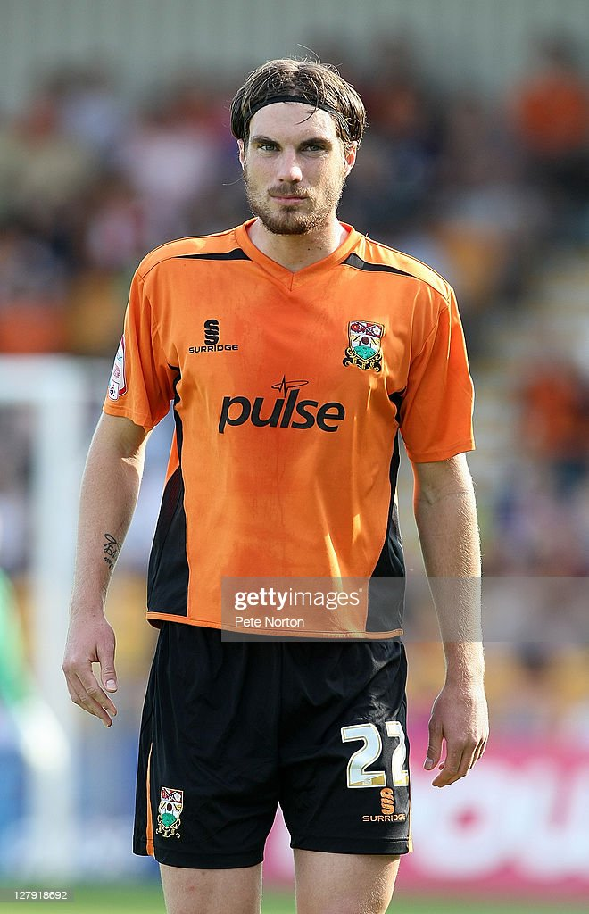 Daniel Leach of Barnet in action during the npower League Two match between Barnet and Northampton Town at Underhill Stadium on October 1, 2011 in Barnet, England.