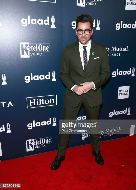 Daniel Levy attends the 28th Annual GLAAD Awards at New York Hilton Midtown on May 6 2017 in New York City