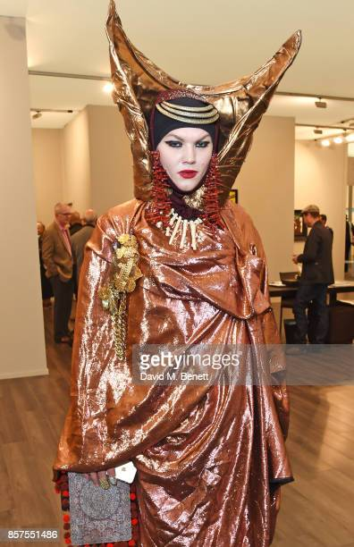 Daniel Lismore attends the Frieze Masters VIP preview in Regent's Park on October 4 2017 in London England