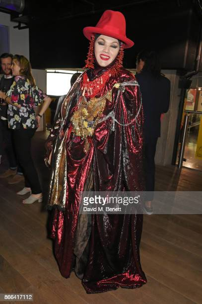 Daniel Lismore attends the UK Premiere after party for 'Grace Jones Bloodlight And Bami' at the BFI Southbank on October 25 2017 in London England