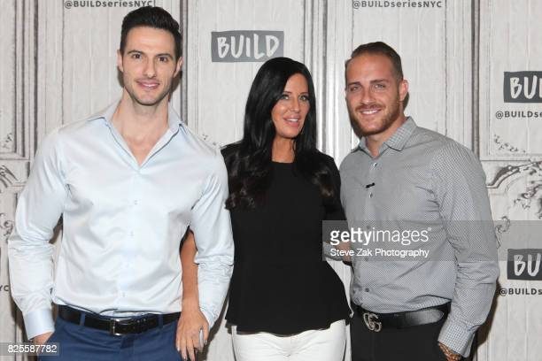 Daniel Maguire Patti Stranger and Vinny Ventiera attend Build Series to discuss 'Million Dollar Matchmaker' at Build Studio on August 2 2017 in New...