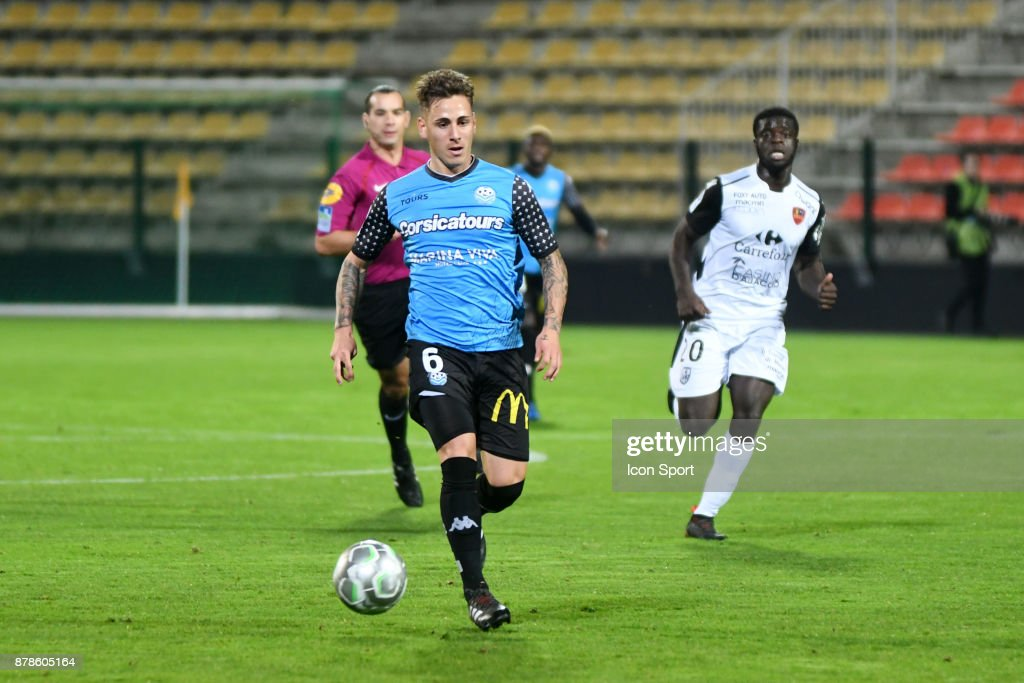 Tours FC v Gazelec Ajaccio - Ligue 2
