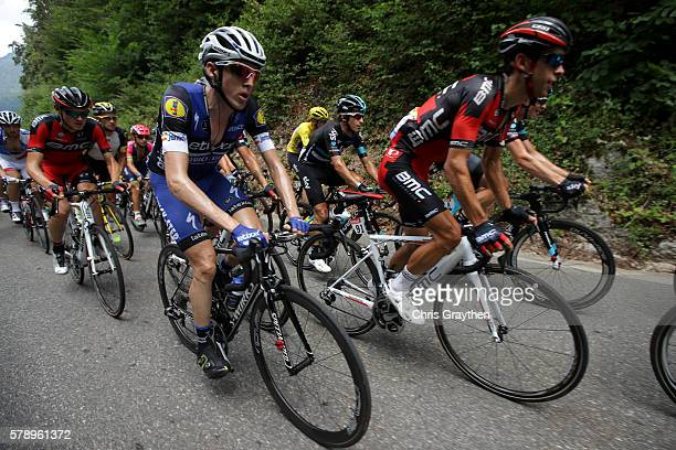 Daniel Martin of Ireland riding for EtixxQuick Step rides in the peloton during stage ninteen of the 2016 Le Tour de France a 146km stage from...
