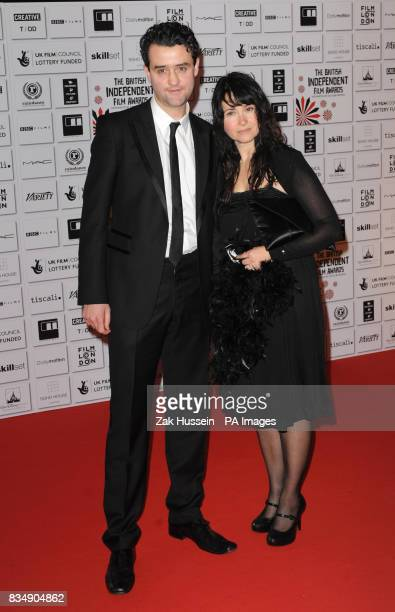 Daniel Mays and guest arrive for the British Independent Film Awards at Old Billingsgate Market east London
