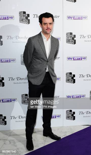 Daniel Mays arriving at the South Bank Sky Arts Awards at the Dorchester Hotel London