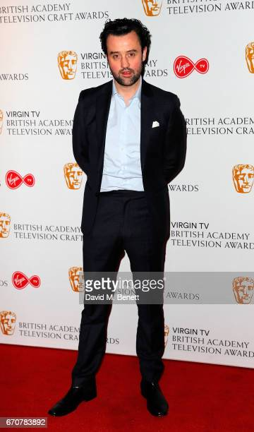 Daniel Mays attends the British Academy Television and Craft Awards nominations party at Mondrian London on April 20 2017 in London England