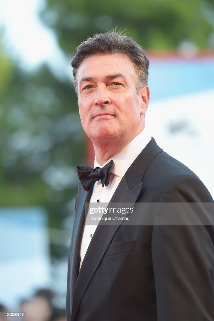 Daniel McVicar attends the Opening Ceremony and 'Birdman' premiere during the 71st Venice Film Festival at Palazzo Del Cinema on August 27 2014 in...