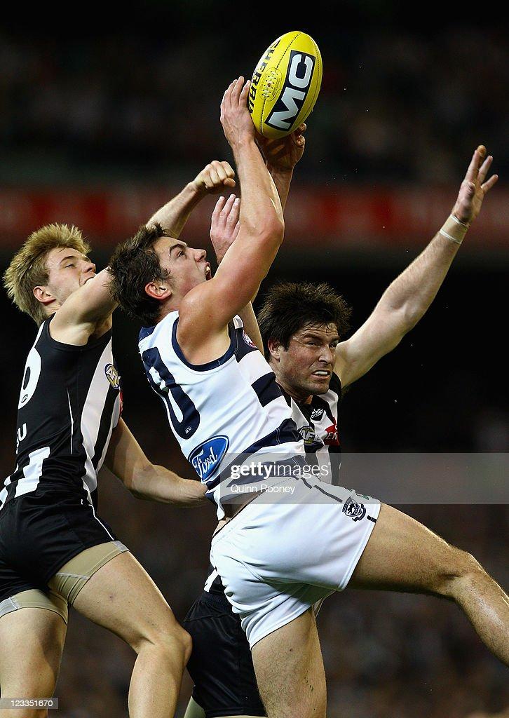 AFL Rd 24 - Collingwood v Geelong