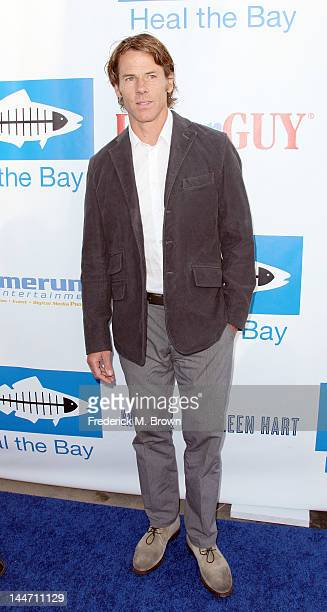 Daniel Moder attends Heal The Bay's Bring Back The Beach Fundraiser on May 17 2012 in Santa Monica California