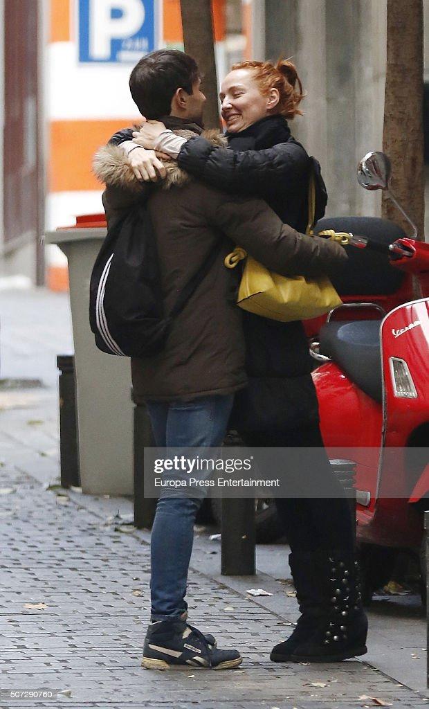 ¿Cuánto mide Daniel Muriel? - Altura Daniel-muriel-and-cristina-castano-are-seen-on-december-20-2015-in-picture-id507290760