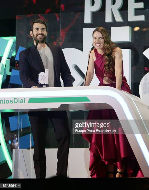 Daniel Muriel and Mariona Tena attend the 'Cadena Dial' awards gala on March 16 2017 in Tenerife Spain