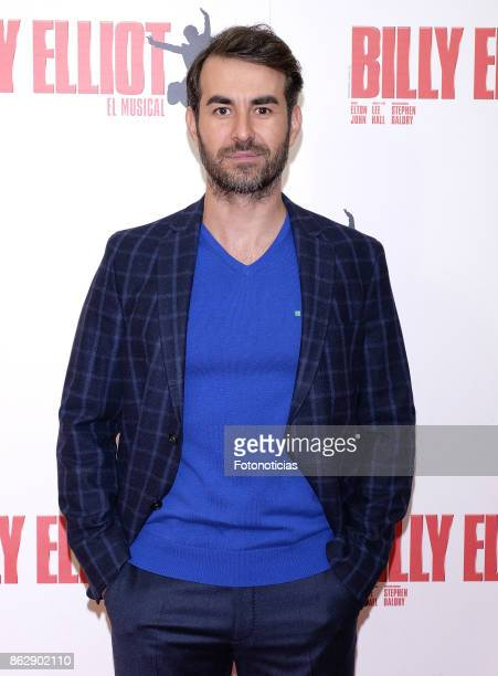 Daniel Muriel attends the 'Billy ElliotEl Musical' premiere at Nuevo Alcala Theater on October 18 2017 in Madrid Spain