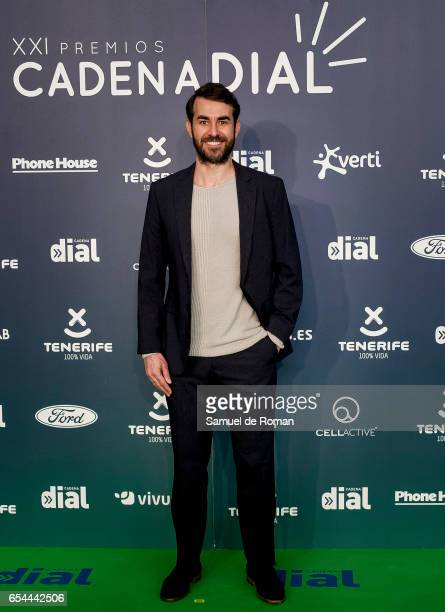 Daniel Muriel attends the 'Cadena Dial' awards photocall on March 16 2017 in Tenerife Spain