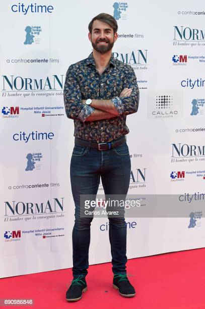 Daniel Muriel attends the 'Norman The Moderate Rise and Tragic Fall of a New York Fixer' premiere at the Callao cinema on May 31 2017 in Madrid Spain
