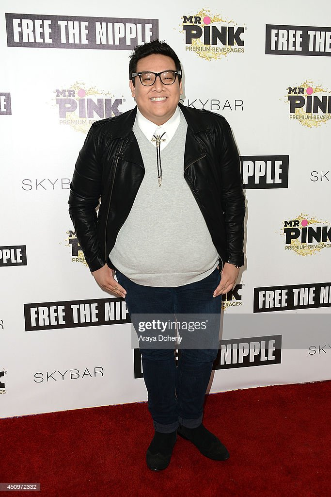 Daniel Nguyen attends the 'Free The Nipple' fundraiser hosted by Russell Simmons at SkyBar at the Mondrian Los Angeles on June 19, 2014 in West Hollywood, California.