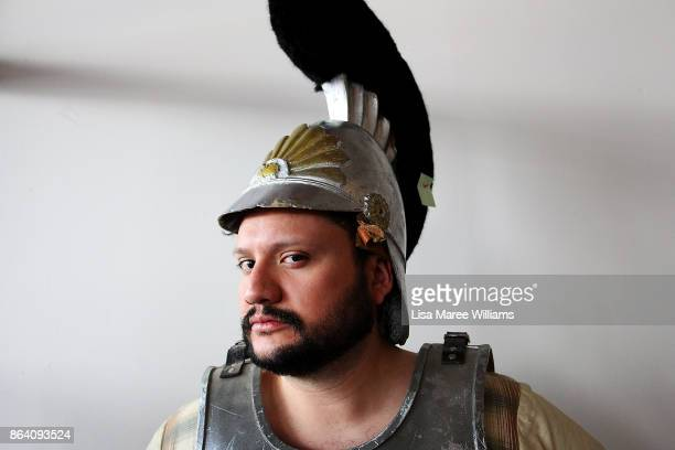 Daniel Nino attends a costume and clothing sale at The Opera Centre on October 21 2017 in Sydney Australia Opera Australia is making way for new...