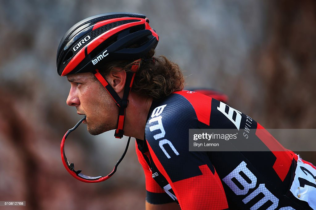 <a gi-track='captionPersonalityLinkClicked' href=/galleries/search?phrase=Daniel+Oss&family=editorial&specificpeople=5734271 ng-click='$event.stopPropagation()'>Daniel Oss</a> of Italy and the BMC Racing Team in action on stage two of the 2016 Tour of Oman, a 162km stage from Omantel Head Office to Quriyat, on February 17, 2016 in Muscat, Oman.