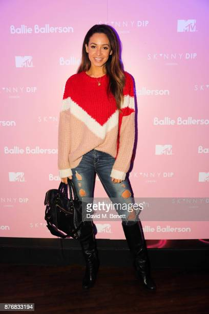 Daniel Peazer attends the launch of the Skinnydip x MTV collection at Ballie Ballerson on November 20 2017 in London England