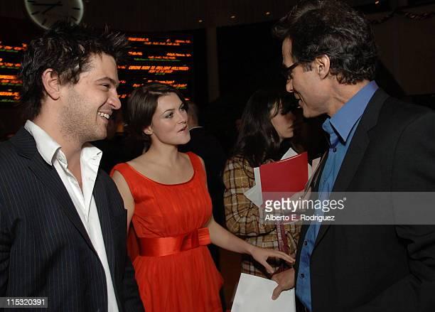 Daniel Percival Holly Davidson and Director Mort Nathan