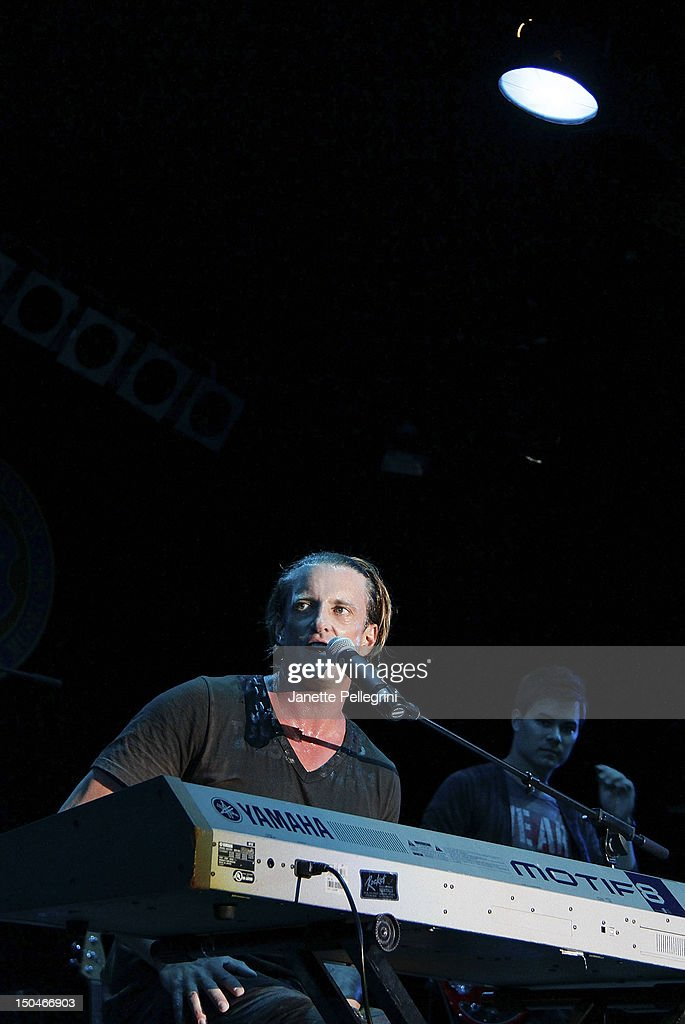 <a gi-track='captionPersonalityLinkClicked' href=/galleries/search?phrase=Daniel+Powter&family=editorial&specificpeople=619658 ng-click='$event.stopPropagation()'>Daniel Powter</a> performs during the 102.7 FM Fresh in the Park 2012 concert at Eisenhower Park on August 18, 2012 in East Meadow, New York.