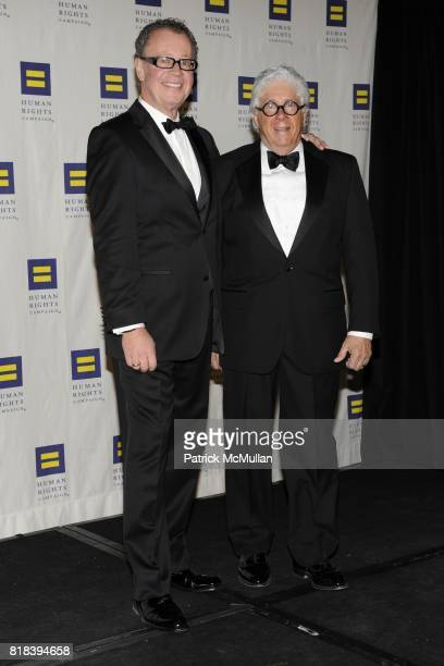 Daniel Pye and Peter Mangone attend GREATER NEW YORK HUMAN RIGHTS CAMPAIGN ANNUAL GALA DINNER 'SPEAK THE TRUTH' at Waldorf=Astoria on February 6 2010...